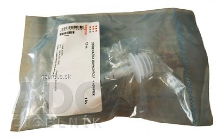 Striekačka dávkovacia 3 ml + adaptér - FAGRON 1x1 ks