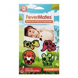FeverMates monitors nálepkové teplomery pre deti 8 ks