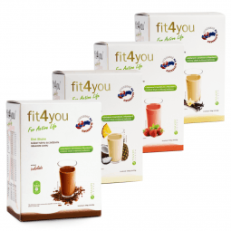 Fit4you Diet Shake Jahoda 10x33g