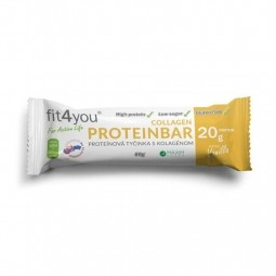 AKCIA SPOTREBA: 07.05.2021 Fit4you Protein Bar 30% Vanilka 60g