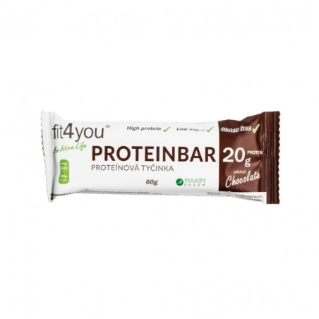 Fit4you Protein Bar 30% Čokoláda 60g