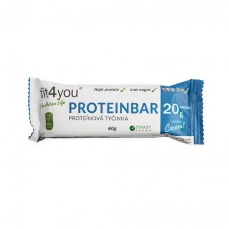 Fit4you Protein Bar 30% Kokos 60g
