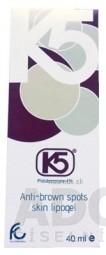 K5 Lipogel na depigmentáciu hnedých škvŕn 1x40 ml