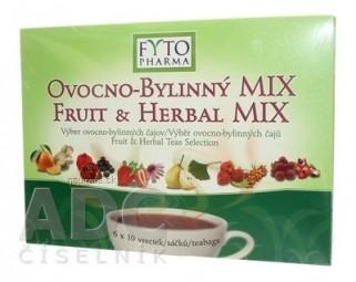 FYTO OVOCNO-BYLINNÝ MIX - Darčeková kazeta 6 druhov čajov po 10 vrecúšok, 60x2 g (120 g)