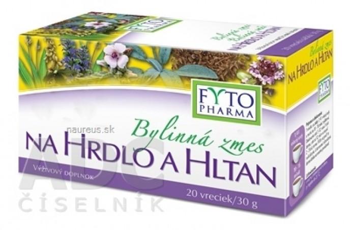 FYTO Bylinná zmes NA HRDLO A HLTAN 20x1,5 g (30 g)