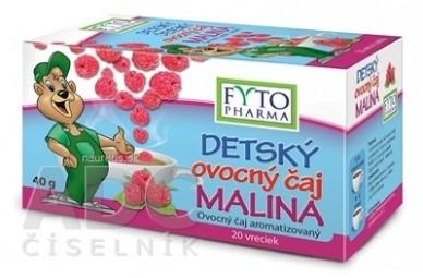 FYTO DETSKÝ ovocný čaj MALINA