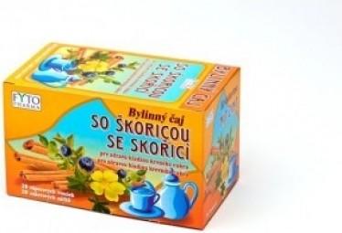 FYTO Bylinný čaj EUDIABEN SO ŠKORICOU 20x1,5 g (30 g)