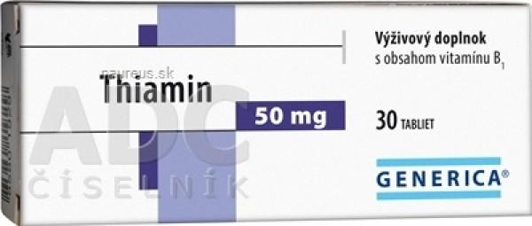 GENERICA Thiamin 50 mg tbl 1x30 ks