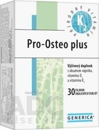 GENERICA Pro-Osteo plus tbl flm 1x30 ks