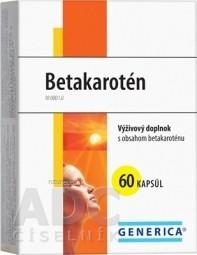 GENERICA Betakarotén cps 1x60 ks