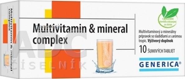 GENERICA Multivitamin & mineral complex