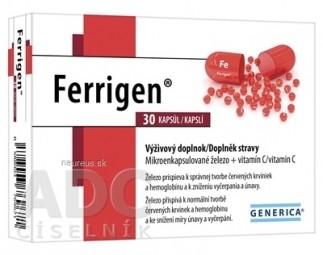 GENERICA Ferrigen cps 1x30 ks