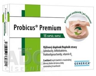 GENERICA Probicus Premium cps 1x15 ks