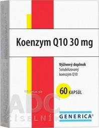 GENERICA Koenzym Q10 30 mg cps 1x60 ks