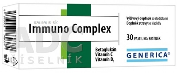 GENERICA Immuno Complex pastilky 1x30 ks