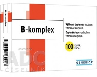GENERICA B-komplex cps 1x100 ks