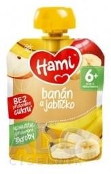 Hami ovocná kapsička Banán a jabĺčko