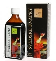HANUS ŠVÉDSKE KVAPKY gtt 1x250 ml