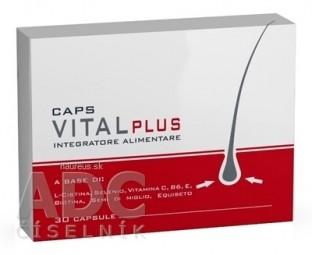VITAL PLUS CAPS doplnok stravy na vlasy 1x30 ks