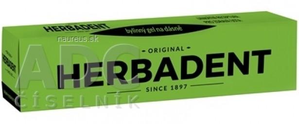 HERBADENT original Bylinný gél na ďasná 1x25 g