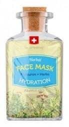 SwissMedicus Herbal FACE MASK HYDRATION pleťová maska s kyselinou hyalurónovou 1x17 ml