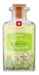 SwissMedicus Herbal FACE MASK NUTRITION pleťová maska s kolagénom 1x17 ml