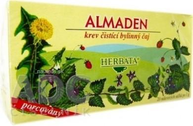 HERBATA ALMADEN bylinný čaj krv čistiaci 20x1 g (20 g)