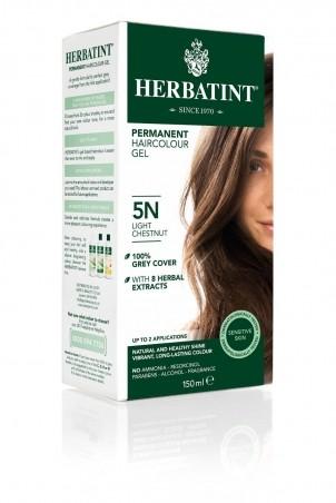 HERBATINT 5N svetlý gaštan permanentná farba na vlasy