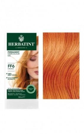HERBATINT permanentná farba na vlasy oranžová FF6