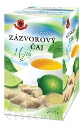 HERBEX Premium ZÁZVOROVÝ ČAJ Mojito bylinný čaj 20x2 g (40 g)