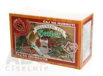 HERBEX ČAJ NA CHUDNUTIE bylinný čaj 20x3 g (60 g)