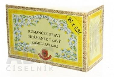 HERBEX RUMANČEK PRAVÝ bylinný čaj 20x2,5 g (50 g)