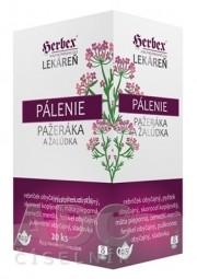 HERBEX Lekáreň PÁLENIE pažeráka a žalúdka bylinná zmes, čaj 20x3 g (60 g)