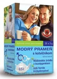 HERBEX MODRÝ PRAMEŇ s kotvičníkom bylinná zmes 20x3 g (60 g)