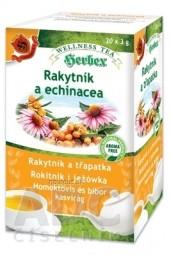 HERBEX Rakytník a echinacea bylinná zmes (wellness tea) 20x3 g (60 g)