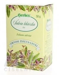 HERBEX ŠALVIA LEKÁRSKA sypaný čaj 1x50 g