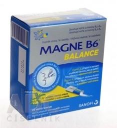 MAGNE B6 BALANCE prášok vo vrecúškach 1x20 ks