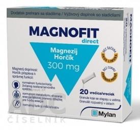 MAGNOFIT direct 300 mg vrecká 1x20 ks