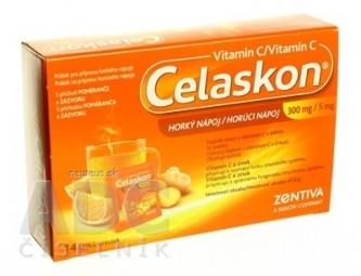 Celaskon HORÚCI NÁPOJ (300 mg/5 mg) 1x14 vreciek