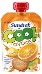 Sunárek COOL ovocie Pomaranč, Banán, Sušienky (od ukonč. 12. mesiaca) 1x120 g