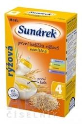 SUNÁREK nemliečna prvá kašička ryžová (od ukonč. 4. mesiaca) 1x180 g