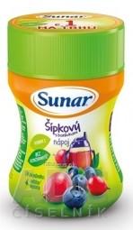 Sunar Rozpustný nápoj Šípkový s čučoriedkami v prášku (od ukonč. 4. mesiaca) 1x200 g