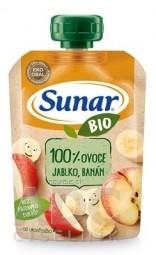 Sunar BIO Kapsička Jablko, banán