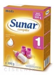 SUNAR COMPLEX 1 mliečna výživa (od narodenia) 1x300 g