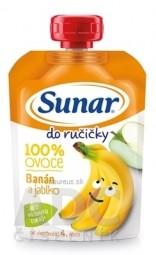 Sunar Do ručičky Banána a jablko 100% ovocia (od ukonč. 4. mesiaca) 1x100 g