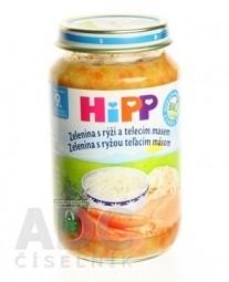 HiPP Príkrm Zelenina, teľacie mäso a ryža