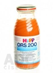 HiPP ORS 200 Mrkvovo ryžový odvar dietetická potraviny (od ukonč. 4.mesiaca) 1x200 ml