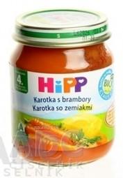 HiPP Príkrm Karotka so zemiakmi zeleninový (od ukonč. 4. mesiaca) 1x125 g
