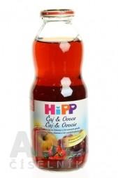 HiPP Čaj&Ovocie, Šípkový čaj a šťava z červ.plodov