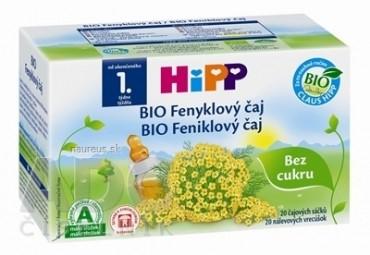 HiPP BIO Feniklový čaj (od ukonč. 1. týždňa) nálevové vrecúška 20x1,5 g (30 g)